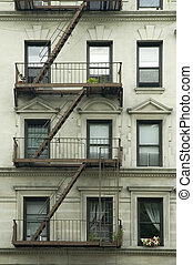 house detail - new york house detail, photo taken in lower...