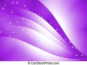 摘要, 曲線, 結構, 紫色, 背景
