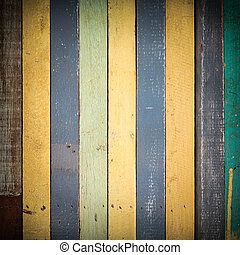 Colorful wood texture use for background