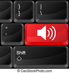 computer button sound