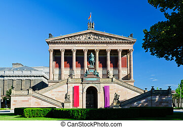 Alte Nationalgalerie Berlin - alte nationalgalerie old...