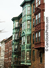 boston brownstones - boston brownstone apartment buildings...