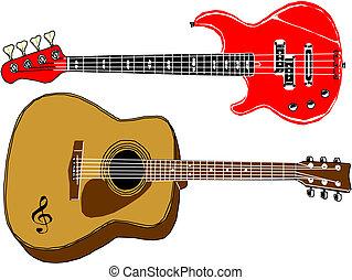 Vector guitars