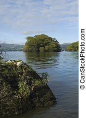 Lake Windermere in Lake District National Park