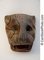 mexican mask of wood, use