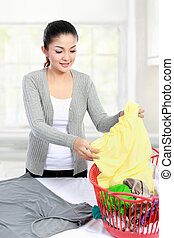 laundry at home