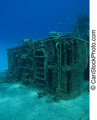 Deck of a Sunken Ship - Deck of the sunken ship Tibbits in...