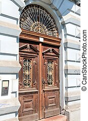 Szeged, Hungary City in Csongrad county Old door