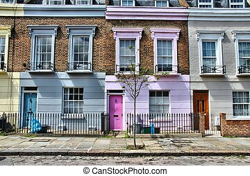 Camden Town, London - London, United Kingdom - colorful...
