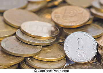 coin treasure combined out of israeli currency
