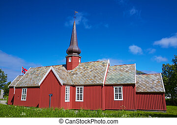 Church in Flakstad
