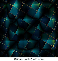 Digital Art abstract background.Mosaic