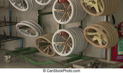 Nude steering wheels - Steering wheels waiting to be painted...