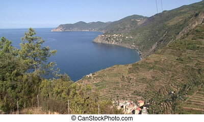 Cliffs of the Cinque Terre - Cliffs and sea of the Cinque...