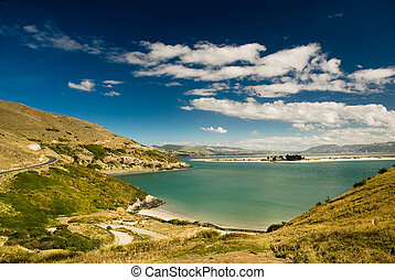 Bay at Dunedin, South Island, New Zealand