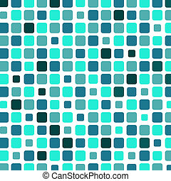Marine square tile mosaic background