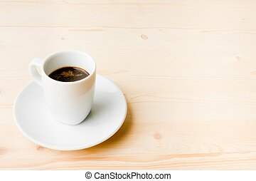 good cup of espresso coffee