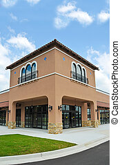 New Commercial Building with Retail and Office Space...