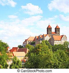 Old cloister in Quedlinburg, Germany