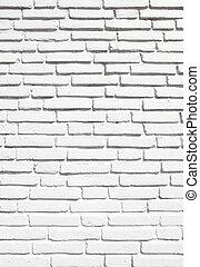 Brickwork - White brickwork texture close-up