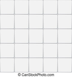 white tile seamless pattern, minimalistic vector background