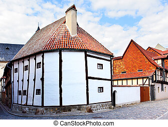 The oldest timber framing house in Germany (first half of...