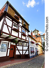 Hildesheim - Old houses in Hildesheim, Germany