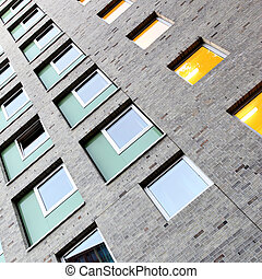 Apartment building - Wall of apartment building