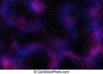 Outer Space Abstract Background