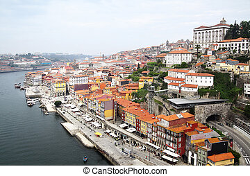 Porto - View of Porto and Douro river, Portugal