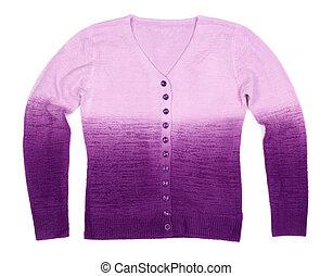 Violet feminine sweater