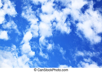Clouds - Sky with clouds, may be used as background