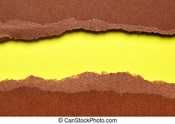 Torn paper background - Torn color paper background with...