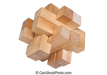 predios, blocos, formando, estimulante, Quebra-cabeça