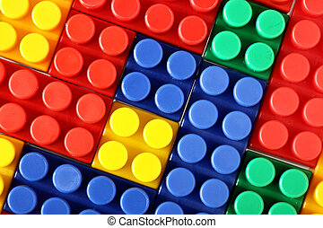 Meccano - Colorful building blocks of meccano, may be used...