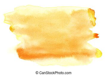 amarela, aquarela