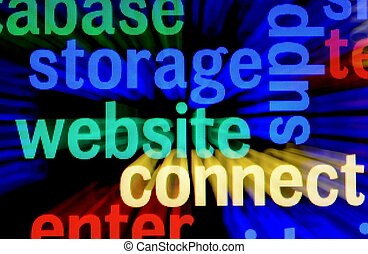 Web storage connect