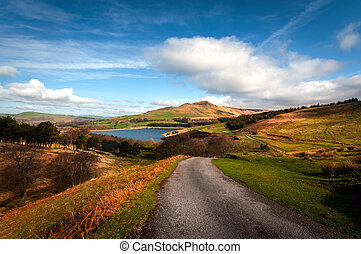 british landscape dovestone - Classic british landscape at...