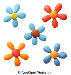 Plasticine, flores