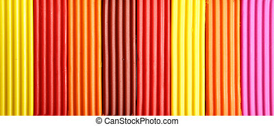 Plasticine - Colorful plasticine, may be used as background