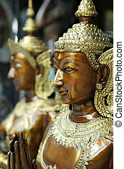 Kinnara statue - a kind of mythological creature