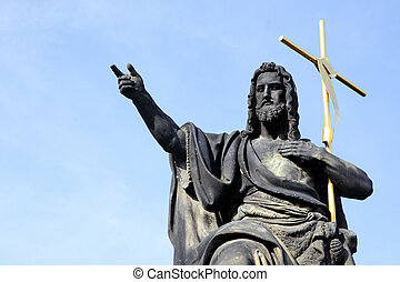 Jesus with cross