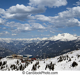 Whistler - The Roundhouse Lodge and Peak 2 Peak Gondola...
