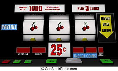 slot machine - image of slot machine