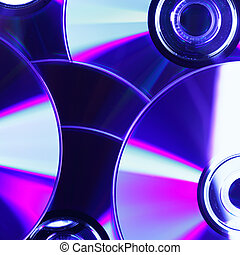 CD close-up, may be used as background