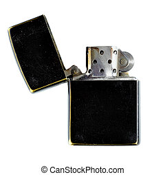 Lighter - Black lighter isolated over the white background