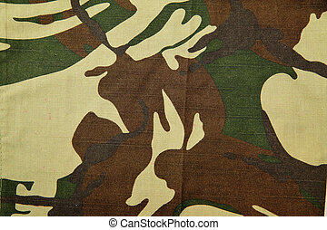 Camouflage textile close-up, may be used as background