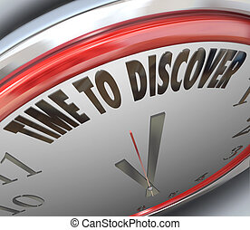 Time to Discover Words on Clock Scientific Research - The...