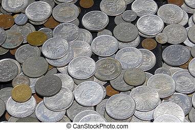 Mexican Pesos - A Collection of Mexican Pesos.