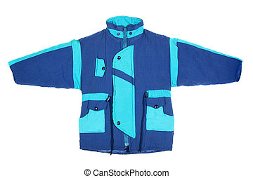 Blue winter jacket - Children's wear - winter jacket...